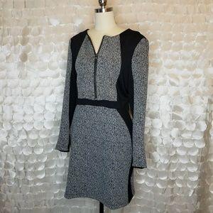 Walter Baker Career Front + Back Zip L/S Dress